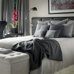 Bed Head Contemporary Bedroom Furnishings Upholstered Heads