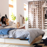 Bed Small Bedroom Design And Decorating Ideas Ikea