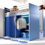 Bedroom Awesome Blue Small Storage Ideas For