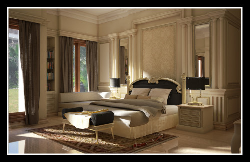 Bedroom Decorating Ideas Luxurious Modern Classic Interior