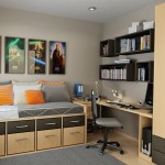 Bedroom Storage Ideas For Cool Small Teens Bedrooms