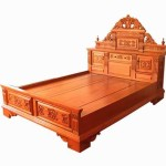 Bedroom Wood Bed Solid Timber