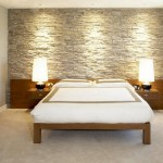 Bedrooms Stone Wall Decoration Nicespace