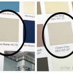 Behr Cotton Grey Similar Benjamin Moore Revere Pewter