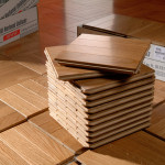 Benefits Real Wood Uniblocks Over Like Tile Flooring Options