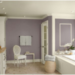 Benjamin Moore Purple Bathroom