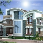 Best Home Architecture Mix Luxury Design Kerala