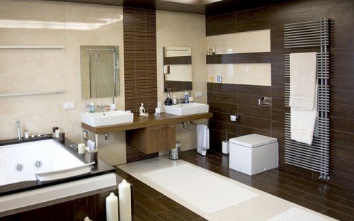 Best Modern Elegant Healthy Bathroom Decorating Ideas