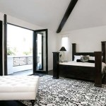 Black And White Bedroom Beautiful Interior