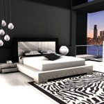 Black And White Bedroom Carpet Classic
