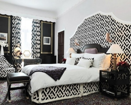 Black And White Bedroom Decorating Ideas That Inspire Home Design