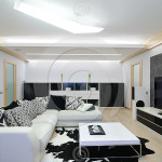 Black And White Design Reflects Luxurious Rich Modern