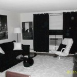 Black And White Modern Style Living Room Rooms Design