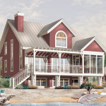 Blakeslee Waterfront Home Plan House Plans And More