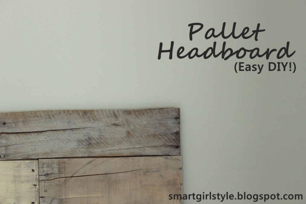 Blog About Modest Style How Make Headboard Out Pallet Wood