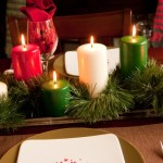 Blogs Decorating Christmas Ornament Colorful Candles