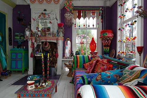 Bohemian Valhalla Eclectic Gipsyland Colorful Life
