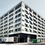 Book Pages Transformed Into Concrete Hotel Facade Munich