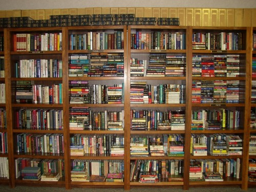 Book Shelves Uwi Library