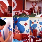 Boy Girl Wall Paint Color Bedroom Ideas For