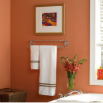Boy Paint Color Comforting Peach Works Well Small Bathrooms