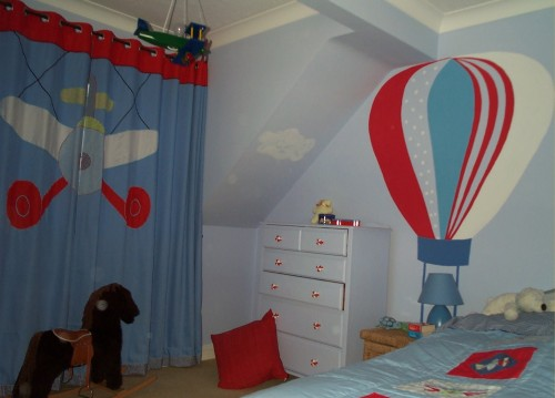 Boy Room Decoration Ideas Graph Transportation