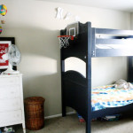 Boys Messy Room Bunk Beds