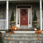 Bring Fall The Front Door Home Touches