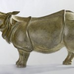 Bronze Small Animal Sculpture Artist Florence Jacquesson Titled