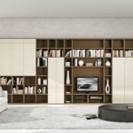 Brown And Cream Fascinating Shelving Units Ideas For Living Room