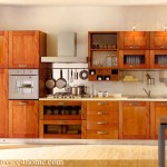 Brown Wood Latest Kitchen Design Drawers For Home And