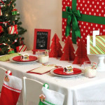 Budget Friendly Christmas Table Celebrations Home