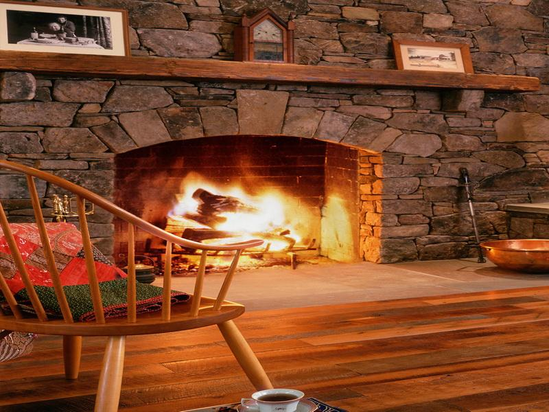 Build Rustic Stone Fireplaces Beautiful