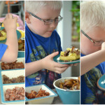 Build Your Own Breakfast Waffle Pizza Bar Mom Timeout