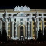 Building Projection Ukraine Feast For The Eyes Geek