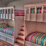 Bunk Bed Design Ideas Middle Stairs For Four Interior