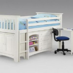 Bunk Bed Storage And Pull Out Table