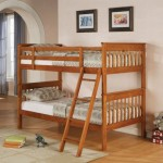 Bunk Beds For Two Small Room Classic Wooden Style Twin