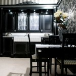 Cabinets For Kitchen Black Different Ideas