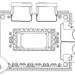 Cad Block Living Room Layout Plan View Autocad Dwg
