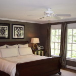 Calming Gray Master Bedroom Enhancing The Color