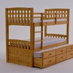 Captains Bunk Bed Storage And Guestbed