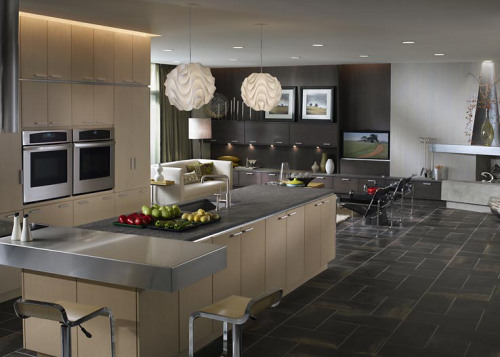 Casual And Open Kitchens