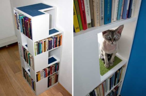Catcase Cat Tree Design Book Shelves Diy Modern Furniture