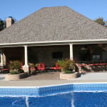 Central Kentucky Homes Recent Pool House Addition