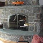 Ceramic Tile For Stone Fireplace Facing Mantels All