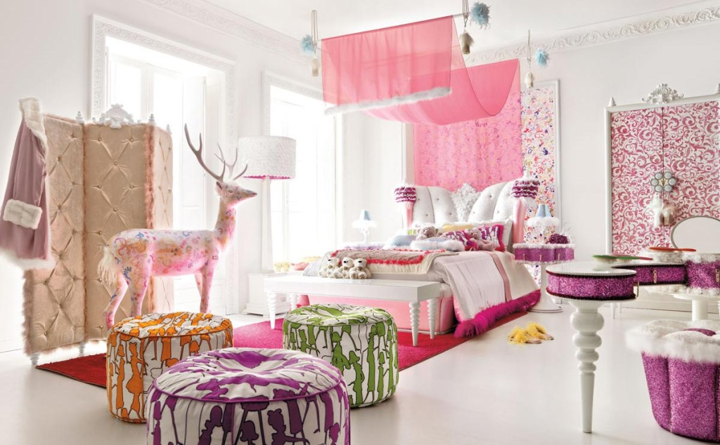 Charming And Opulent Pink Girls Room Altamoda Girl Digsdigs