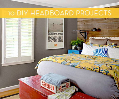 Cheap And Simple Headboard Ideas Curbly Users Diy Maven