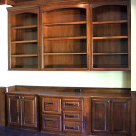 Cherry Study Cabinets Bookshelves