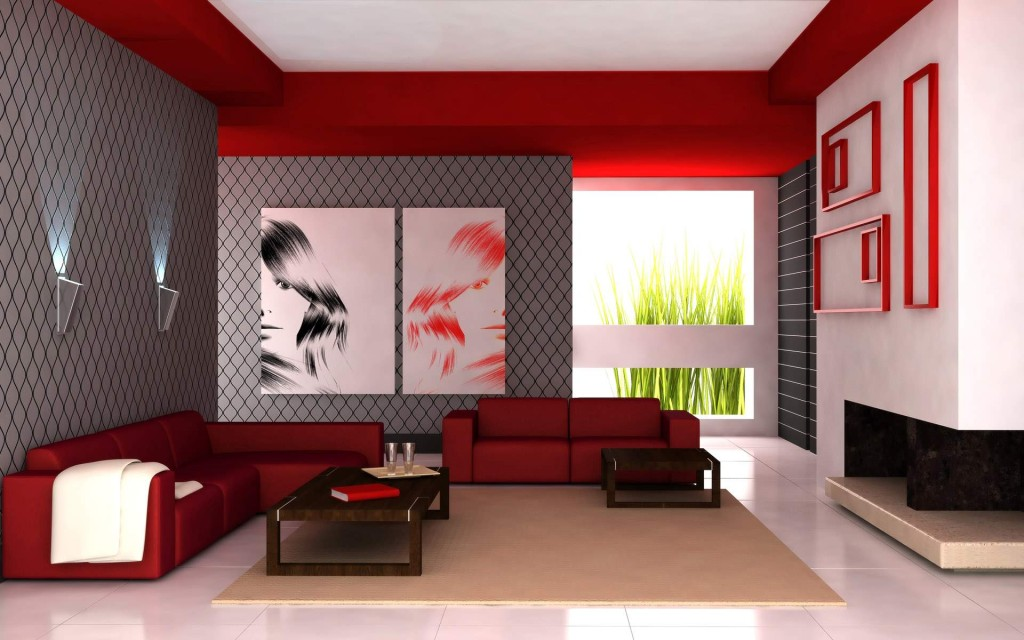 Chic Living Room Interior Design Modern